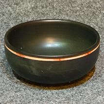 ロウヌキ朱彩鉢